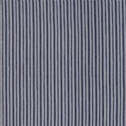 Moda - Ahoy Me Hearties by Janet Clare - 5713 - Grey & Navy Blue Stripe - 1435 13 - Cotton Fabric